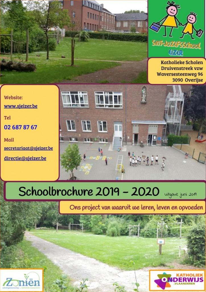 voorpagina schoolbrochure 19-20